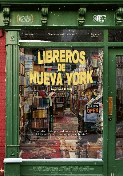 Cartel de Libreros de Nueva York