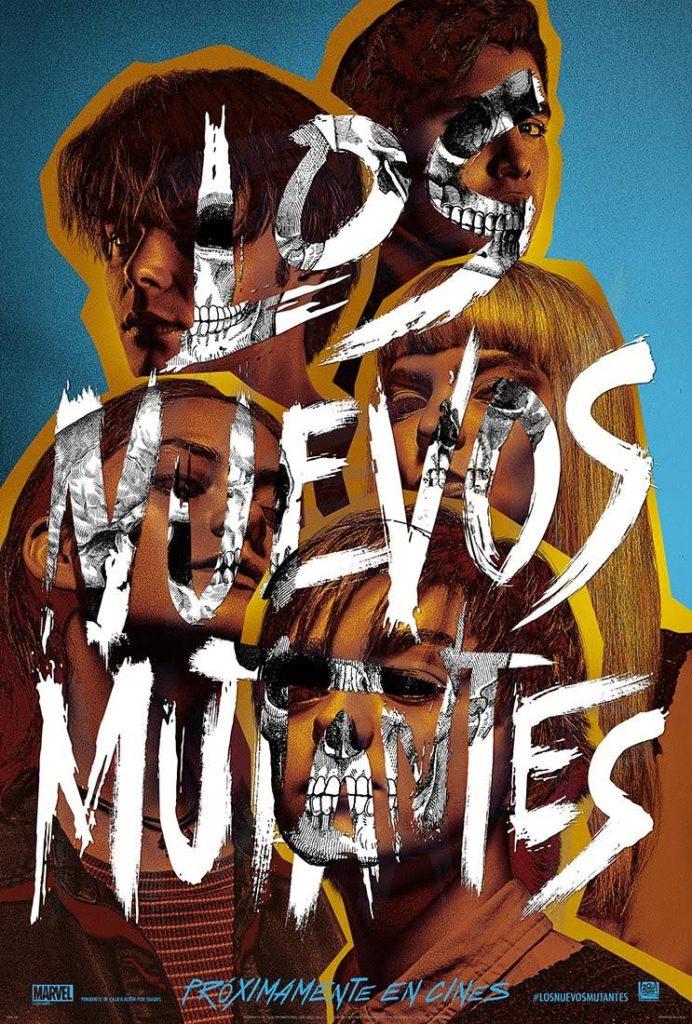 Cartel de Los nuevos mutantes