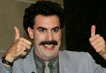 Borat 2 rodada en secreto