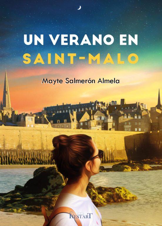 Portad del libro Un verano en Saint-Malo de Mayte Salmerón Almela