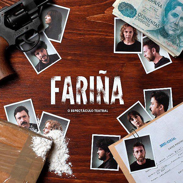 Fariña nació como una novela. Le siguió la adaptación televisiva para acabar, ahora, en un montaje teatral