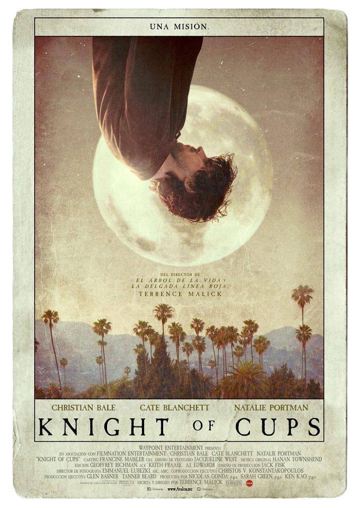 Cartel de Knight of Cups, estrenos del 18 de septiembre