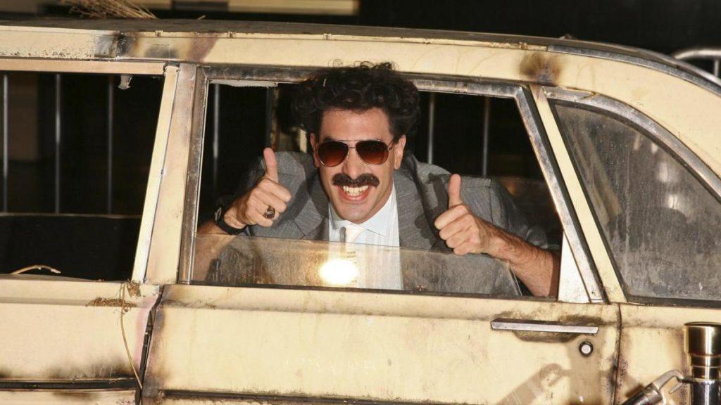 Sacha Baron Cohen se disfraza de su personaje más famoso en Borat 2