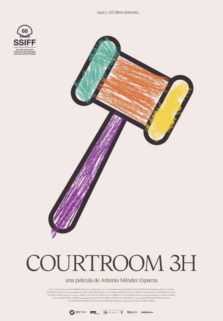 Cartel de Courtroom 3H