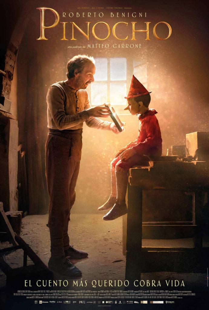 Cartel de Pinocho, estrenos del 18 de septiembre
