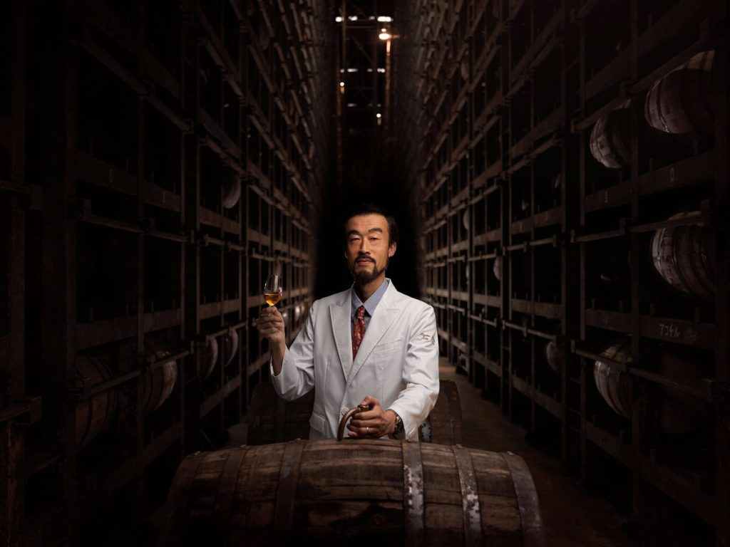 Jota Tanaka works for the Kirin Fuji Gotemba Distillery at the base of Mt. Fuji as the distillery's Master Blender.