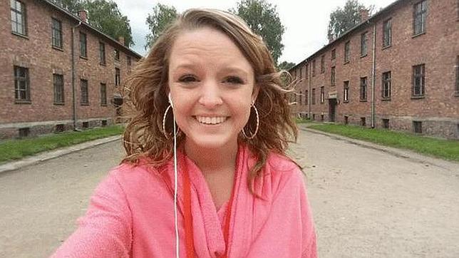 Un selfie en Auschwitz