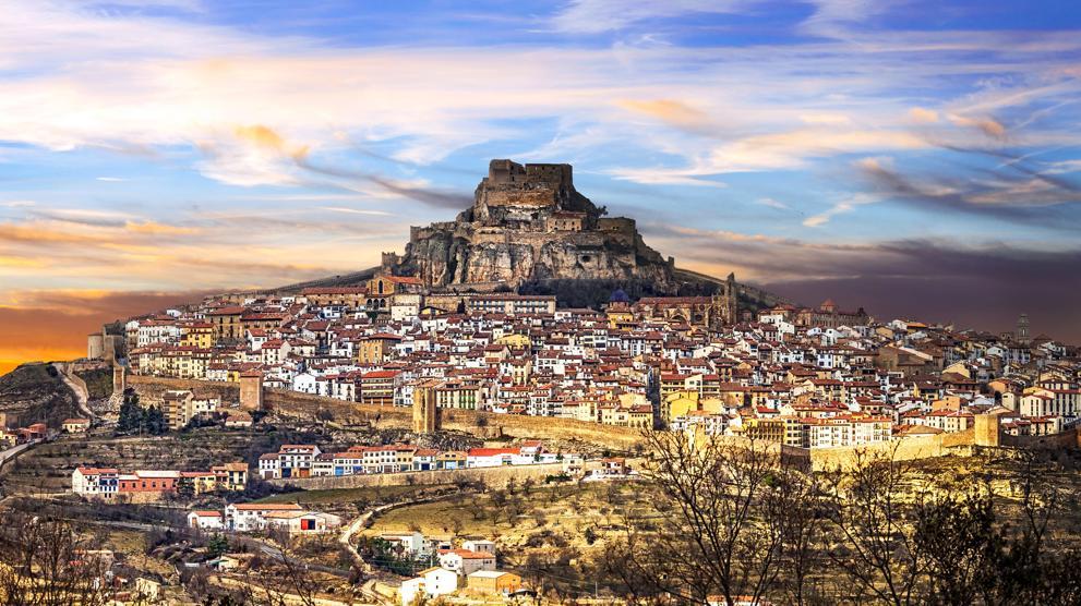 Foto de archivo de Morella, ciudad valenciana donde sucede Si te quedas en Morella... la novela de Teresa Cameselle