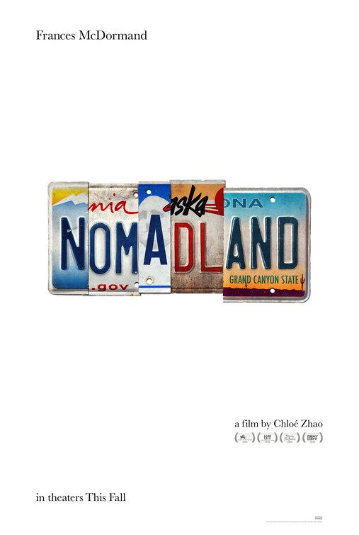 Cartel de Nomadland