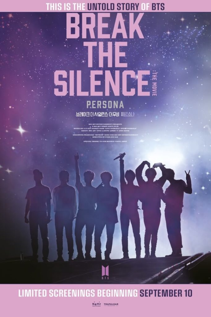 Cartel de de BTS: Break the silence