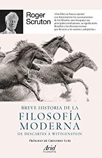 Breve historia de la filosofía moderna de Scruton