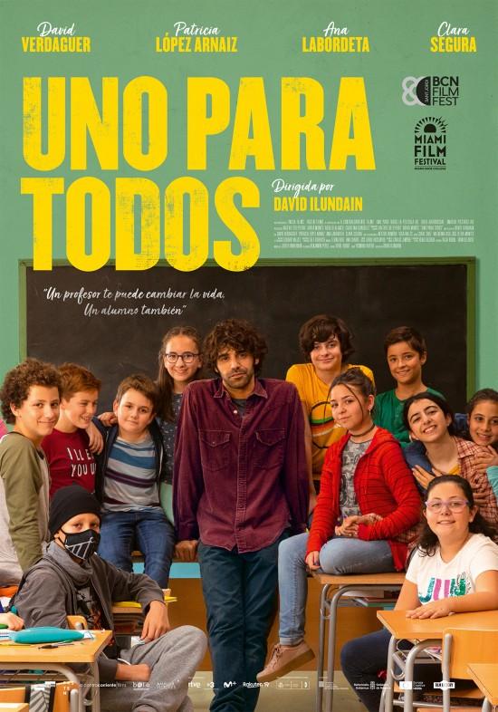 Cartel de Uno para todos, estrenos del 18 de septiembre