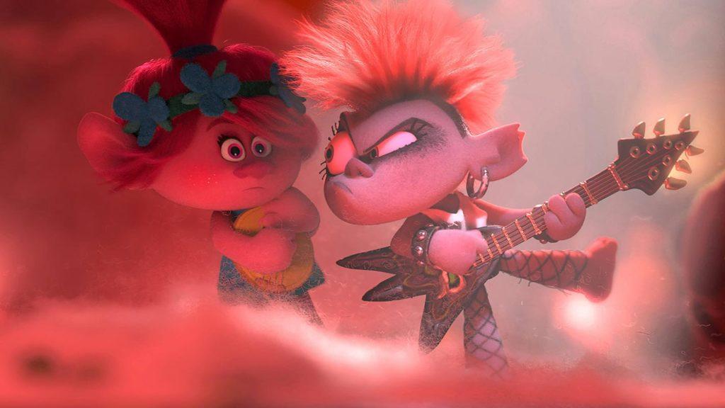 Poppy y Barb, Trolls 2: gira mundial