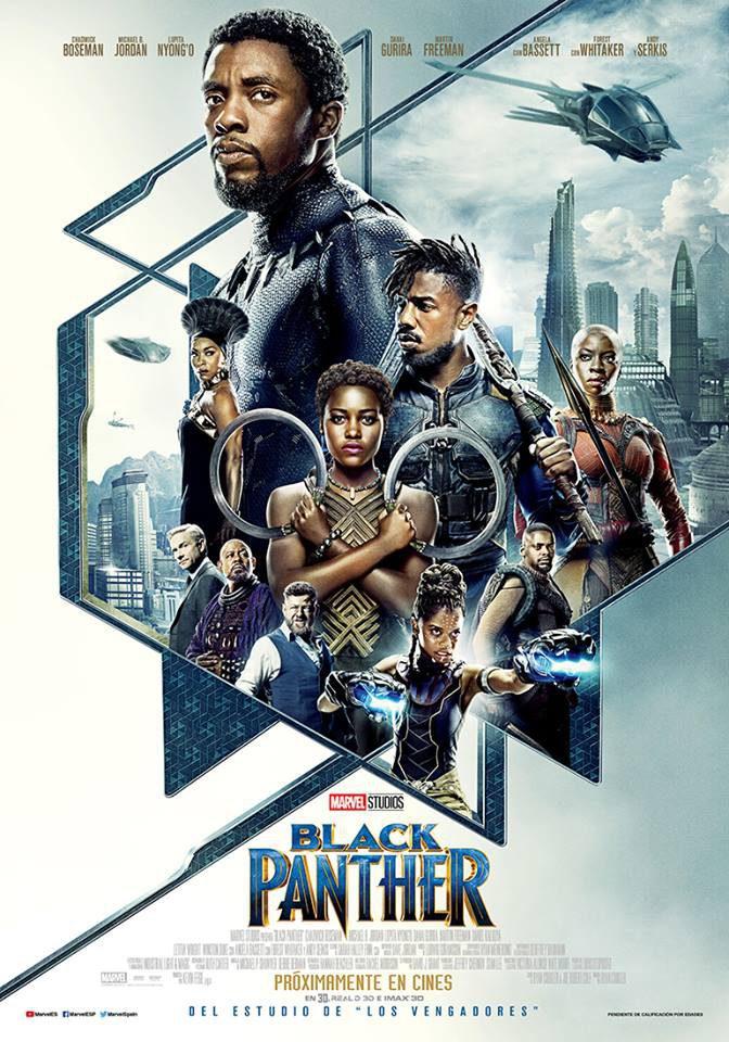 Cartel de Black Panther, un reestreno entre los estrenos del 30 de octubre