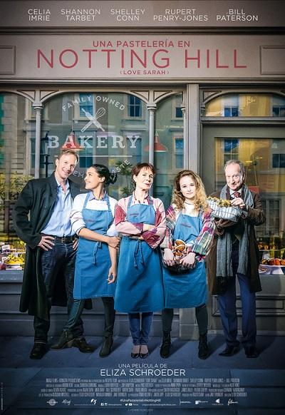 Cartel de Una pastelería en Notting Hill