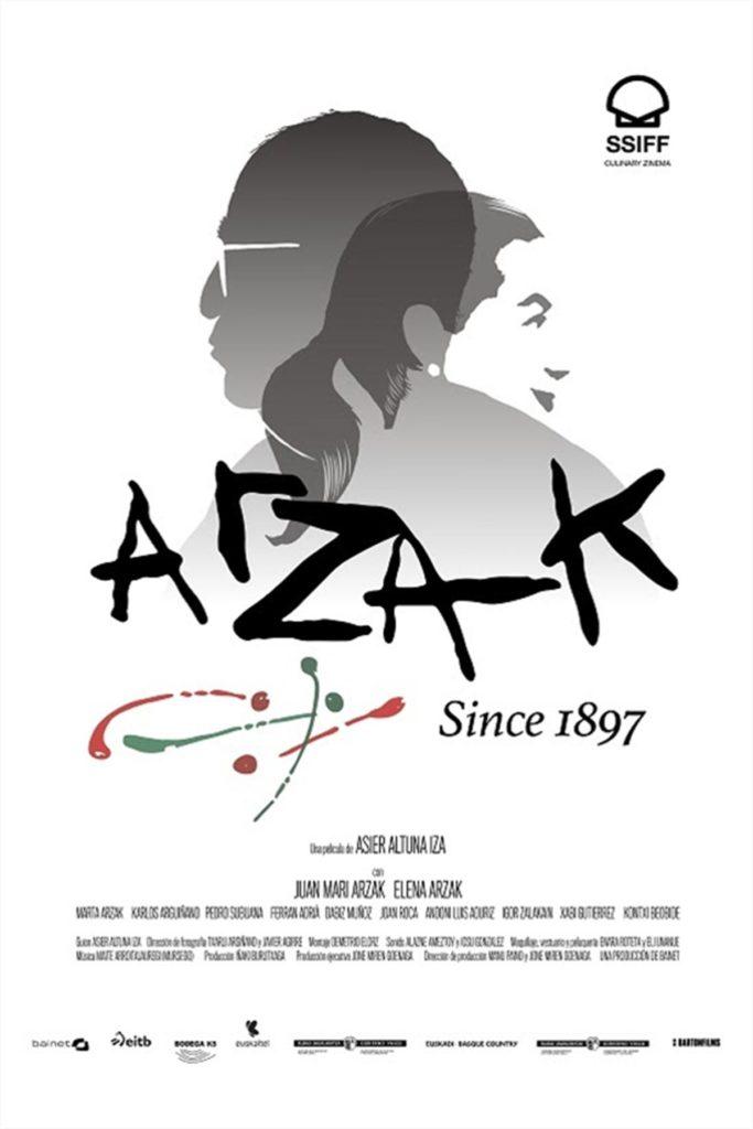Cartel de Arzak, since 1897