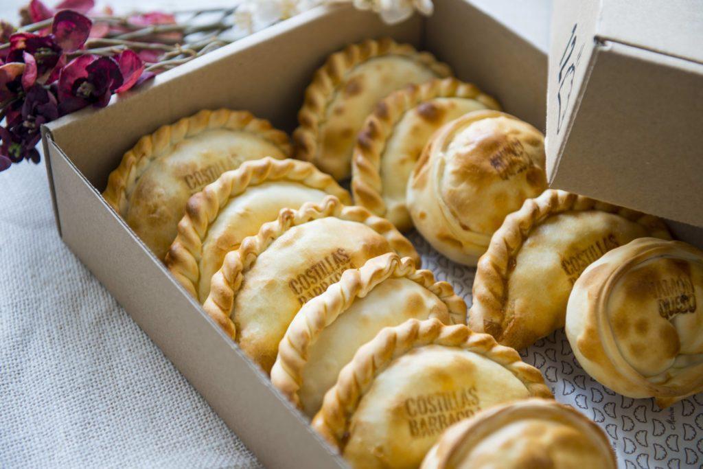 Caja de empanadas Malvón