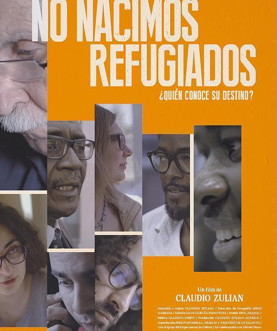 Cartel de No nacimos refugiado