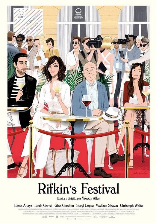 Cartel de Rifkin's Festival