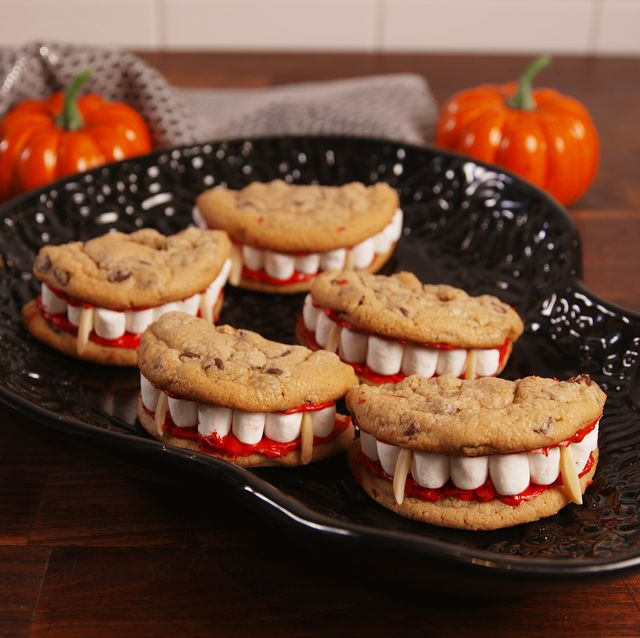 Platos saludables para Halloween