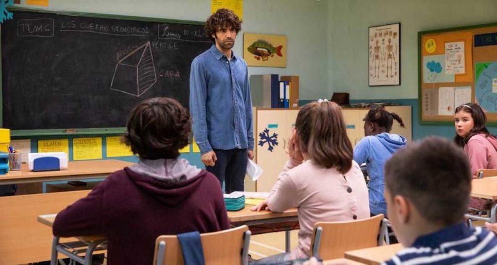 Aleix en el aula