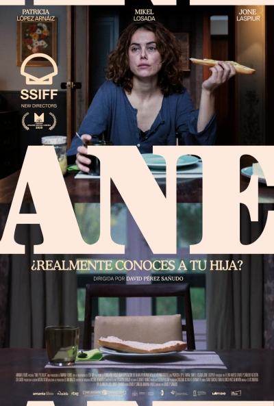 Cartel de Ane, el Premio al Cine Vasco del 68 SSIFF en los estrenos del 16 de octubre
