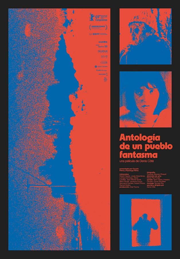 Cartel de Antología de un pueblo fantasma. No pudo estrenarse en marzo y llega en los estrenos del 23 de octubre