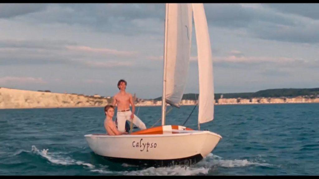Alex y david en el Calypso