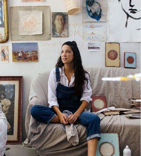 La joven diseñadora Camila Carles-Tolrá Galofré