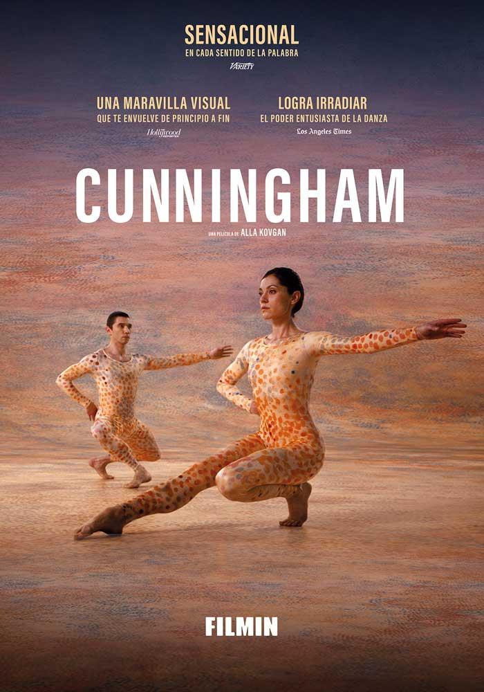 Cartel de Cunningham, Filmin en cine en estos estrenos del 16 de octubre