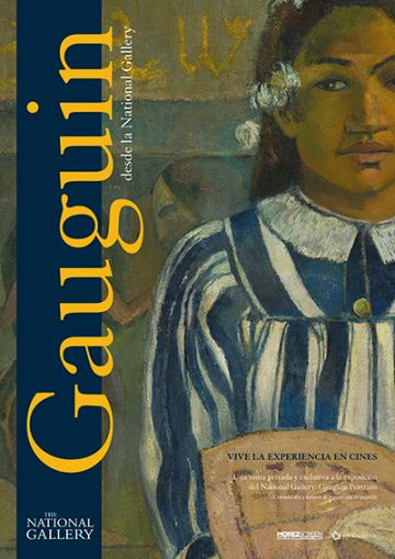 Cartel de Gauguin desde la National Gallery de Londres, arte en los estrenos del 30 de octubre
