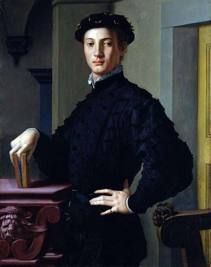 Retrato de joven con libro