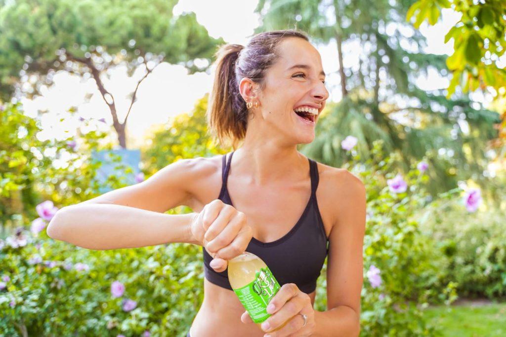 Un refresco sano para deportistas