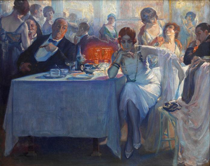Falenas. Carlos Verger Fioretti. 1920