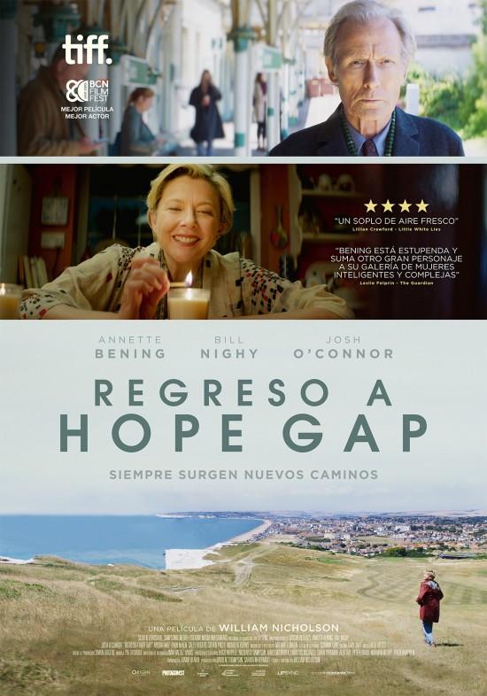 Cartel de Regreso a Hope Gap, llega a los estrenos del 23 de octubre tras aplazarse su estreno