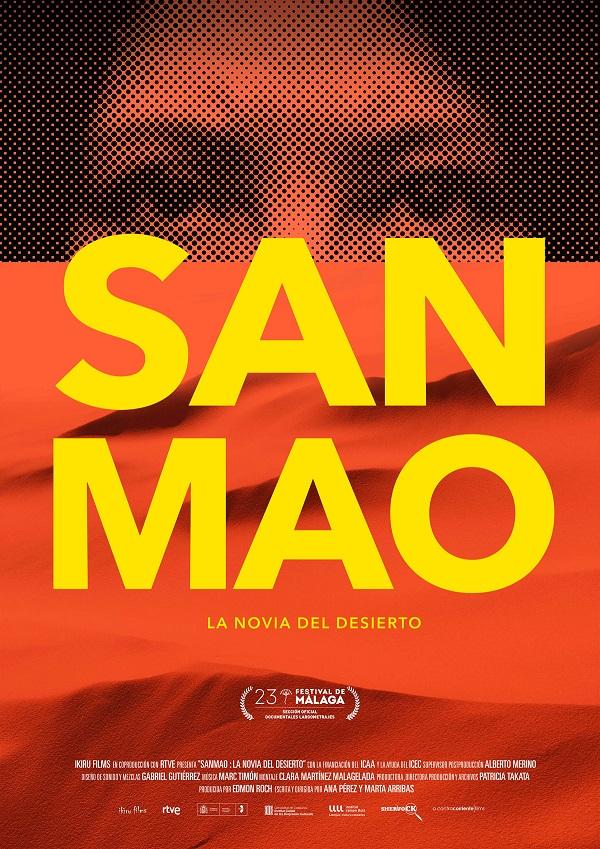 Cartel de Sanmao: La novia del desierto, ha pasado del 2 a los estrenos del 9 de octubre