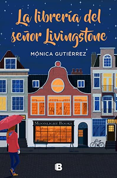 Portada de la novela de La librería del señor Livingstone de Mónica Gutiérrez