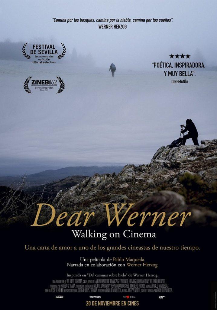 Cartel de Dear Werner (Walking on Cinema)