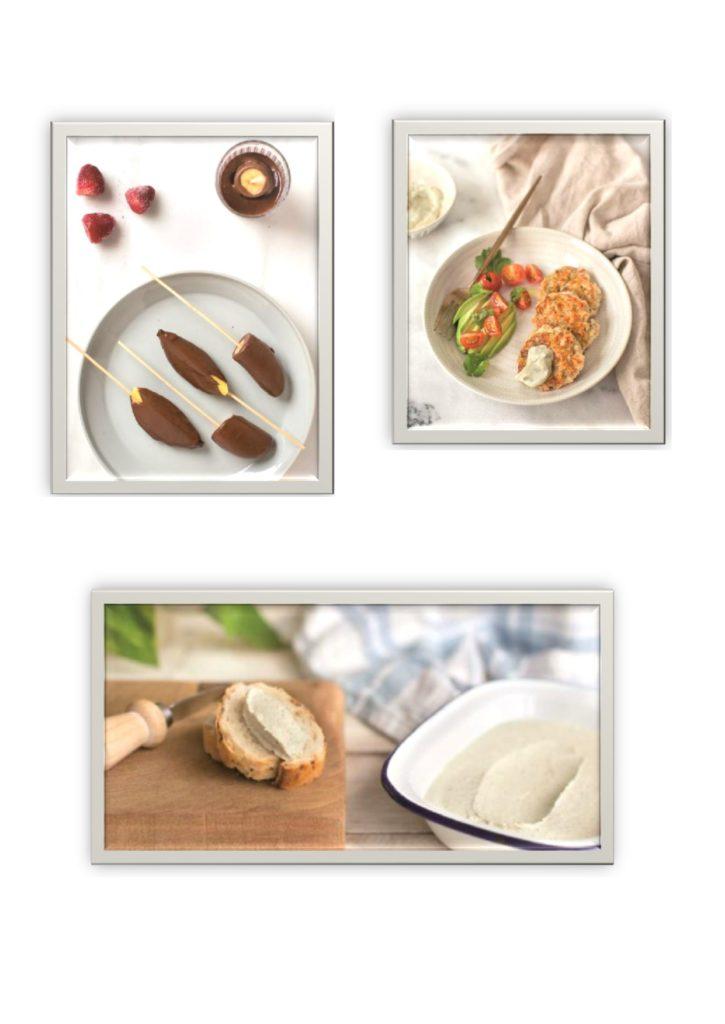 Foto de algunas recetas del interior del libro de Cocina Comida Real de Carlos Ríos