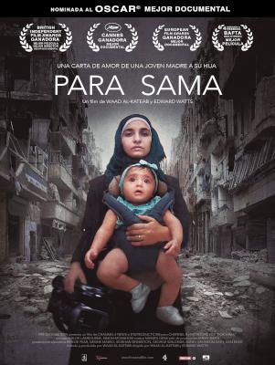 Cartel de Para Sama. Un documental sobre la guerra de Siria entre los estrenos del 13 de noviembre