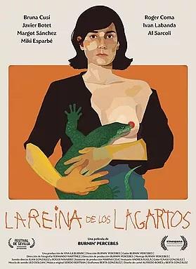 Cartel de La reina de los lagartos, ciencia ficción española entre los estrenos del 20 de noviembre