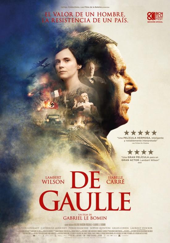 Cartel de De Gaulle, uno de los estrenos más esperados del 20 de noviembre