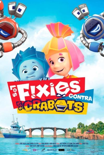 Cartel de Los Fixies contra los Crabots, la animación en los estrenos del 13 de noviembre