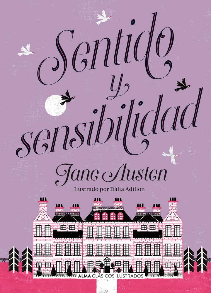 Portada de 'Sentido y sensibilidad' de Jane Austen, de la edición de Alma Editorial