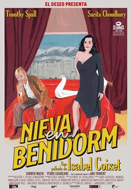 Cartel de Nieva en Benidorm