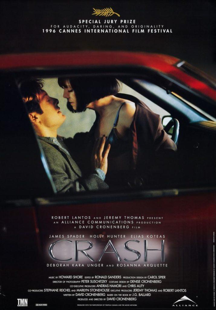Cartel de 1996, en 2021 Crash restaurada y sin censura