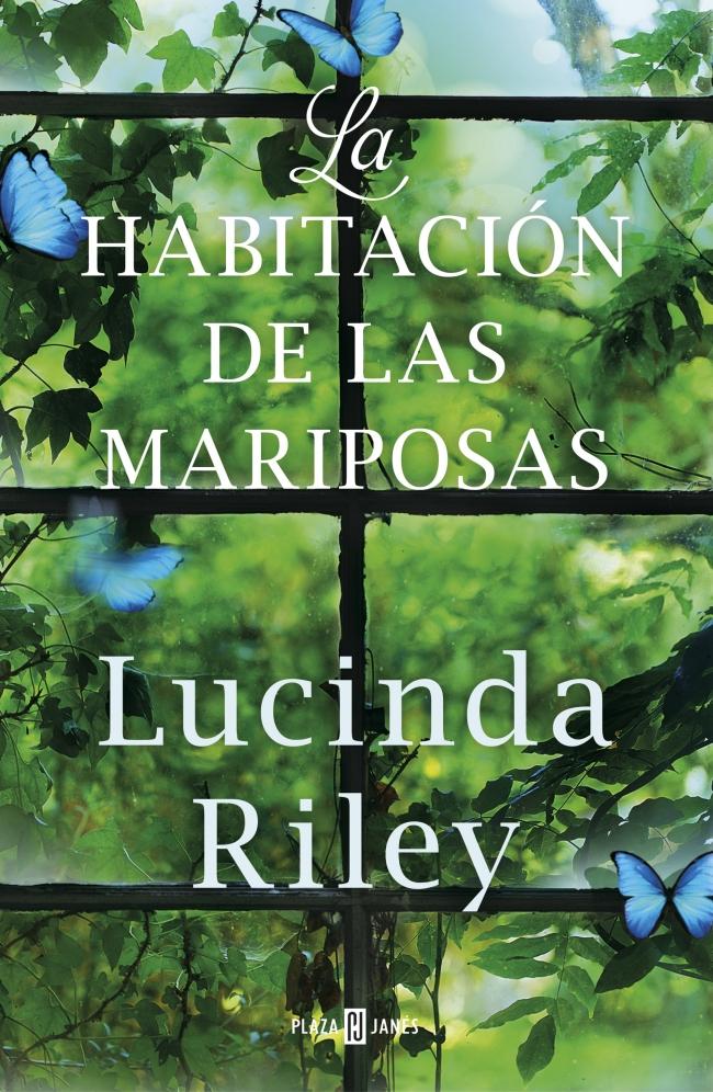 """Portada de """"La habitación de las mariposas"""" de Lucinda Riley"""