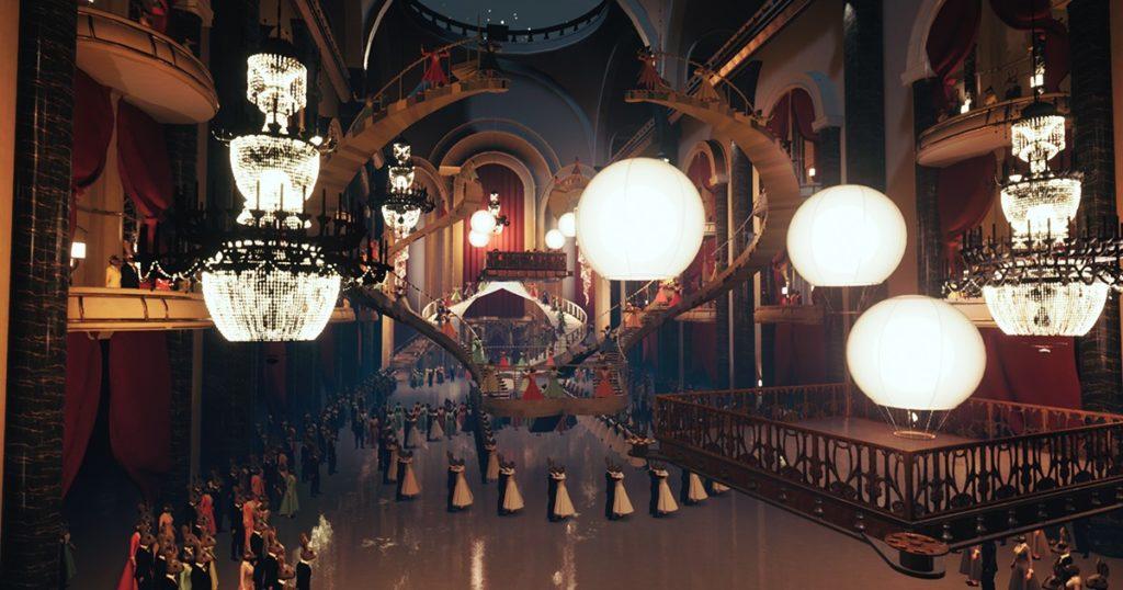Tres son los escenarios del espectáculo virtual Le Bal de Paris, en los que los espectadores también son protagonistas absolutos y, así, viven la historia como una experiencia al cien por ciento real