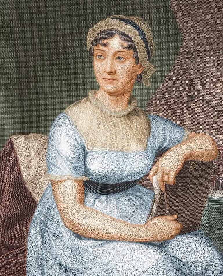 Foto de archivo de Jane Austen, autora de Sentido y Sensibilidad