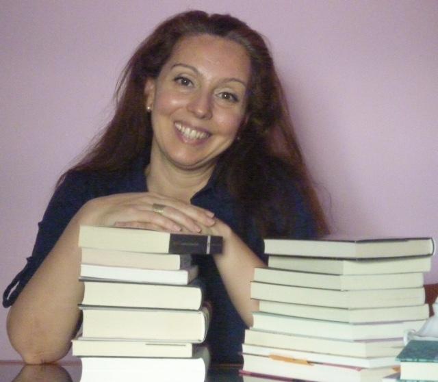 Foto de archivo de Mónica Gutiérrez autora de La librería del señor Livingstone